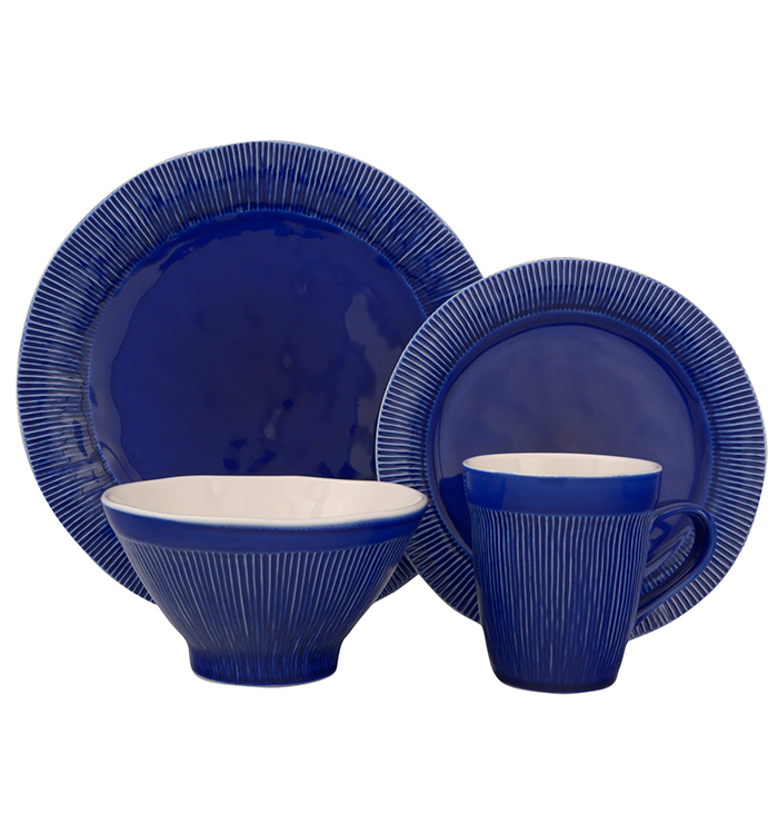 Chromatic 16 Piece Dinnerware Set