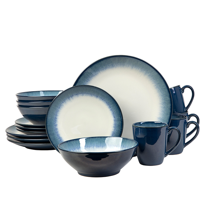 Novelle Dusk 16 Piece Dinnerware Set
