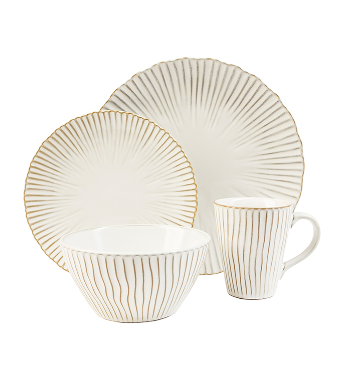 Portura 16 Piece Dinnerware Set