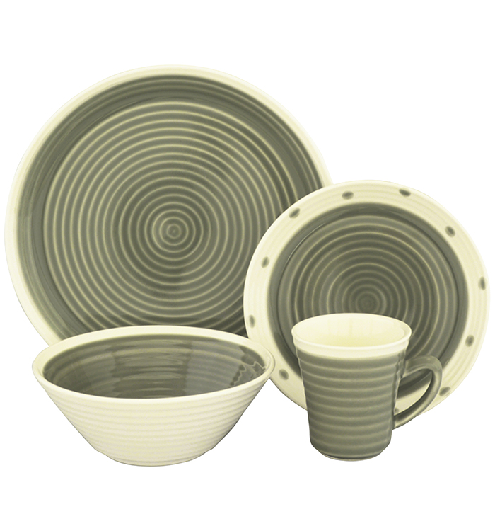 Rico 16 Piece Dinnerware Set
