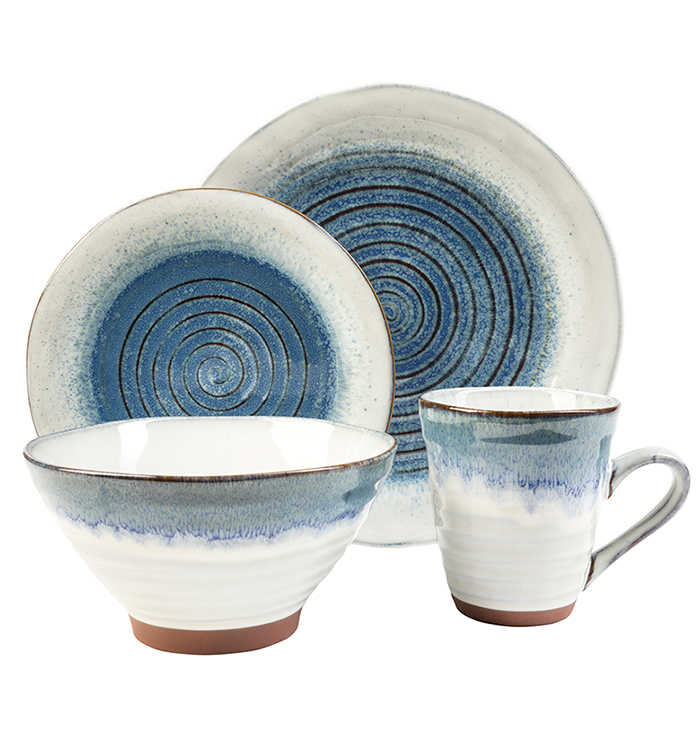 Talia Dusk 16 Piece Dinnerware Set